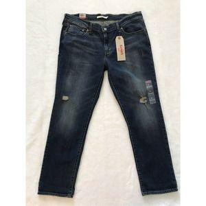 NWT Levi's Distressed Boyfriend Jeans Size 32
